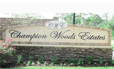 Champion Woods Estates, Champion Woods Estates Sec 0, Champion Wood Estate, Champion Woods Estates Sec 1, Champion Woods Estates Sec 3 Single Family Home For Sale: 7614 Noah Lane