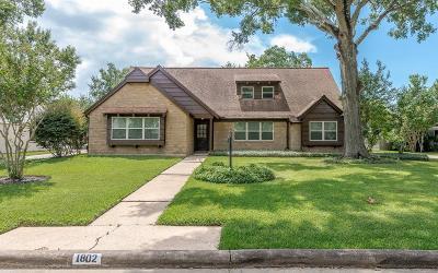 Houston Single Family Home For Sale: 1802 Antigua Lane