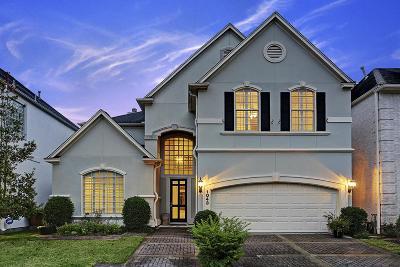 Houston Single Family Home For Sale: 1043 Bayou Island Drive