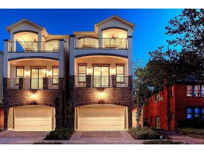 Houston TX Single Family Home For Sale: $800,000