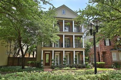 Houston Single Family Home For Sale: 3319 Memorial Crest Boulevard