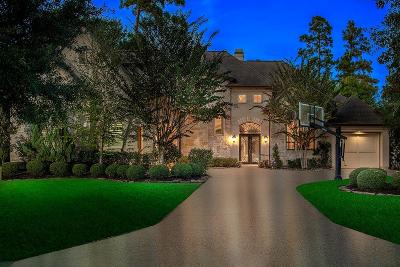 The Woodlands Single Family Home For Sale: 6 Pine Lodge Place