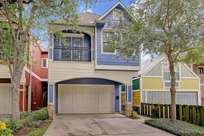 Houston Single Family Home For Sale: 1430 Lawrence Street