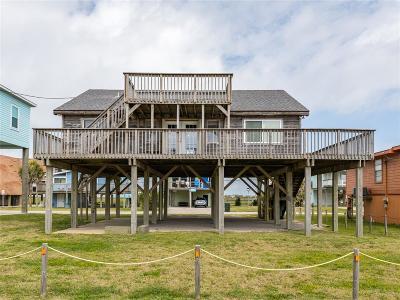 Galveston Single Family Home For Sale: 12905 John Reynolds Road