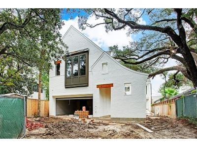 Houston Single Family Home For Sale: 2607 Yupon Street