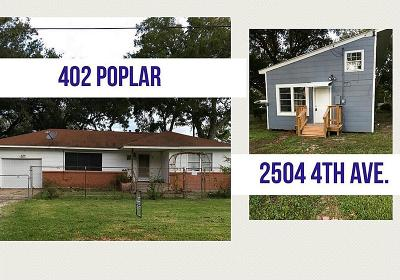 La Marque Single Family Home For Sale: 402 Poplar Street