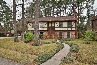 The Woodlands Single Family Home For Sale: 37 N Cypress Pine Drive