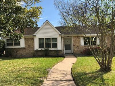 Houston Single Family Home For Sale: 8403 Stroud