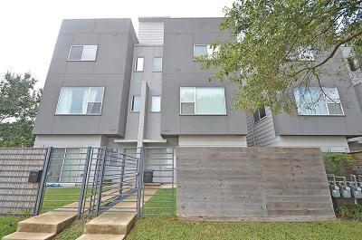Houston Condo/Townhouse For Sale: 1522 Blodgett Street