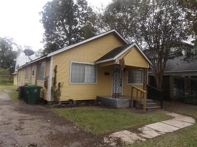 Houston Single Family Home For Sale: 306 E 28th Street