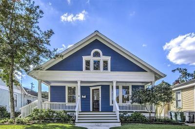 Houston Single Family Home For Sale: 1319 Harvard Street
