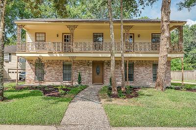 Seabrook Single Family Home For Sale: 1011 Woodbank Drive