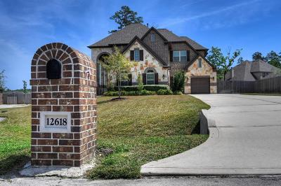 Magnolia Single Family Home For Sale: 12618 Mostyn Lane