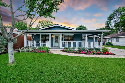 Houston Single Family Home For Sale: 5611 Hewitt Drive