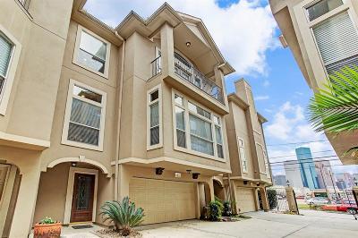 Houston Condo/Townhouse For Sale: 1304 Dart Street #B