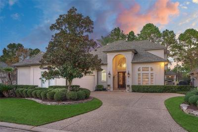 Conroe, Houston, Montgomery, Pearland, Spring, The Woodlands, Willis Single Family Home For Sale: 42 Somerset Pond Place
