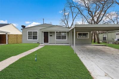 Pasadena Single Family Home For Sale: 2606 Windsor St Pasadena Lane