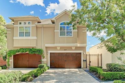 Houston Condo/Townhouse For Sale: 2427 Brun Street