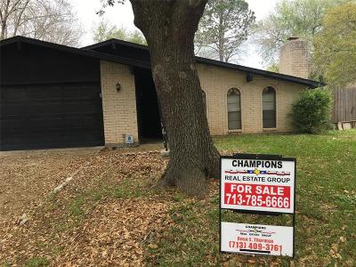 Missouri City Single Family Home For Sale: 2230 Mustang Springs Drive
