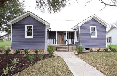 Bellville Single Family Home For Sale: 406 N Holland Street