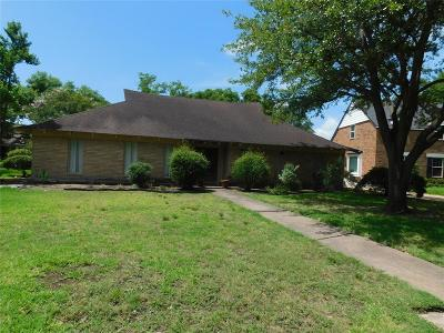 Houston Single Family Home For Sale: 11234 Ivyridge Road
