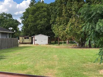 Rosenberg Residential Lots & Land For Sale: 1219 Avenue E