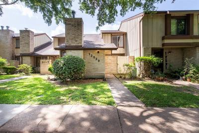 Houston Condo/Townhouse For Sale: 12529 Wellington Park Drive