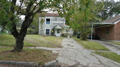 Houston Single Family Home For Sale: 3110 Wentworth Street