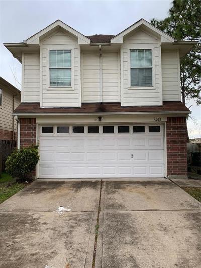 Missouri City Single Family Home For Sale: 7602 Jonathon Court