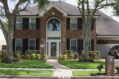 Deer Park Single Family Home For Sale: 1602 Seminole Street