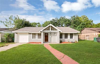 Houston Single Family Home For Sale: 5511 Elm Tree Drive