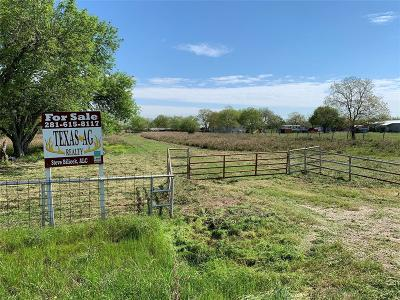 Fort Bend County Country Home/Acreage For Sale: Kamas Lane