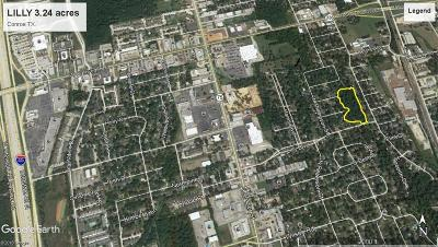 Conroe Residential Lots & Land For Sale: Lilly Blvd