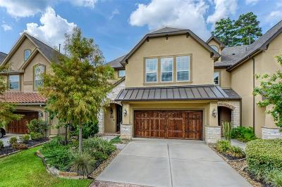 Tomball Condo/Townhouse For Sale: 71 Blissful Ridge Court