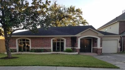 Houston Single Family Home For Sale: 3710 Wheeler Street