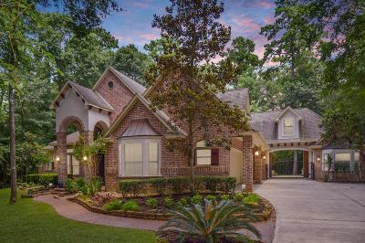 Conroe Single Family Home For Sale: 10351 Hunter Creek Lane