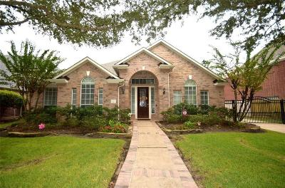 Houston Single Family Home For Sale: 827 Old Valley Way
