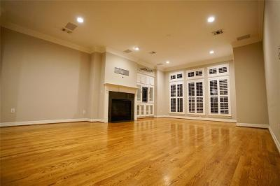 Houston Condo/Townhouse For Sale: 2154 Bancroft