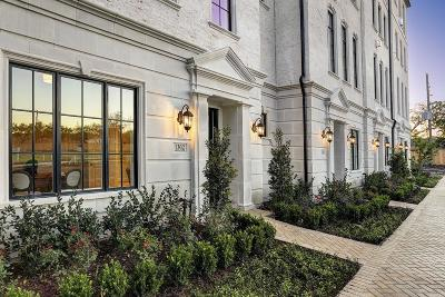 Houston Condo/Townhouse For Sale: 1276 Wood Hollow Drive