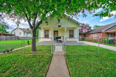 Houston Single Family Home For Sale: 7811 Elwood Street