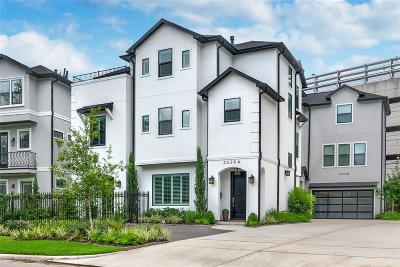 Houston Single Family Home For Sale: 2039 Sheridan #A