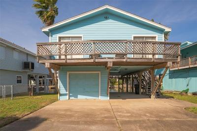 Galveston Single Family Home For Sale: 22104 Zapata