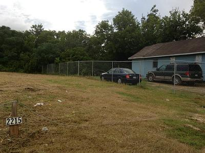 Houston Residential Lots & Land For Sale: 2215 Patterson