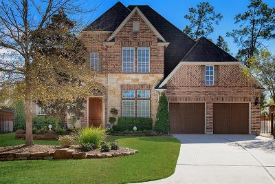 The Woodlands TX Single Family Home For Sale: $825,000