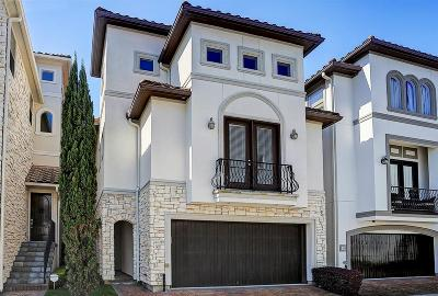 Houston Condo/Townhouse For Sale: 5531 Pine Street #G