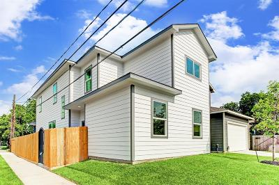 Harris County Single Family Home For Sale: 3301 Omega St #A