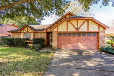 Katy Single Family Home For Sale: 1405 Heights Drive
