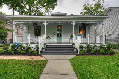 Houston Single Family Home For Sale: 508 Harvard Street