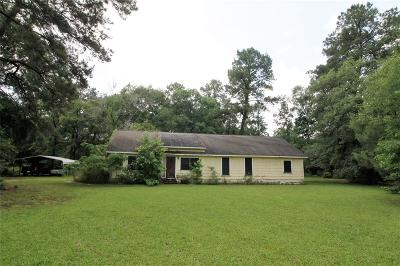 Conroe Single Family Home For Sale: 15020 Quinette Road