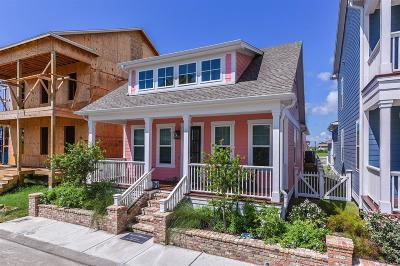Galveston Single Family Home For Sale: 5 Curiosity Lane